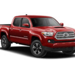 Red Pickup Truck - Toyota Style